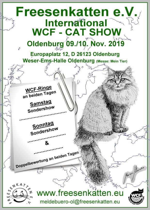 Intern. WCF - Cat Show