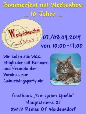 Sommerfest mit Werbeshow des WCC eV