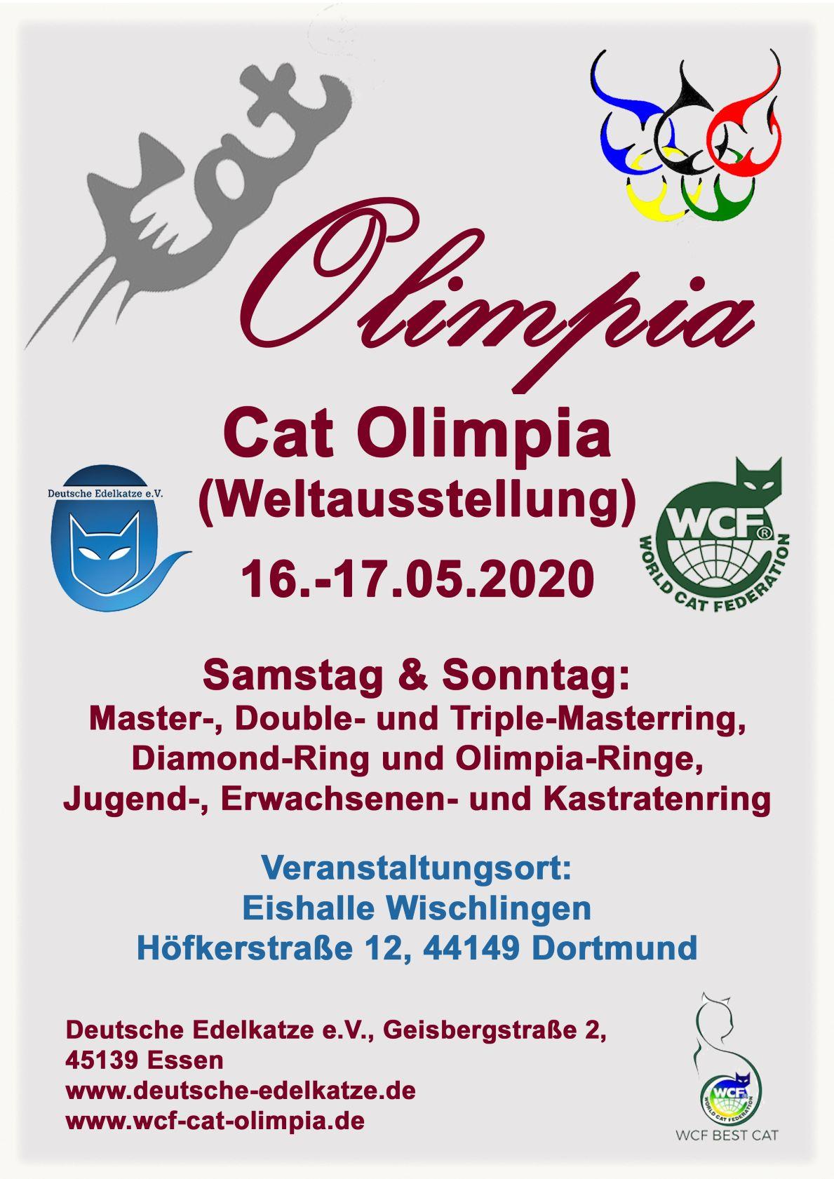 WCF Worldshow / Cat Olimpia