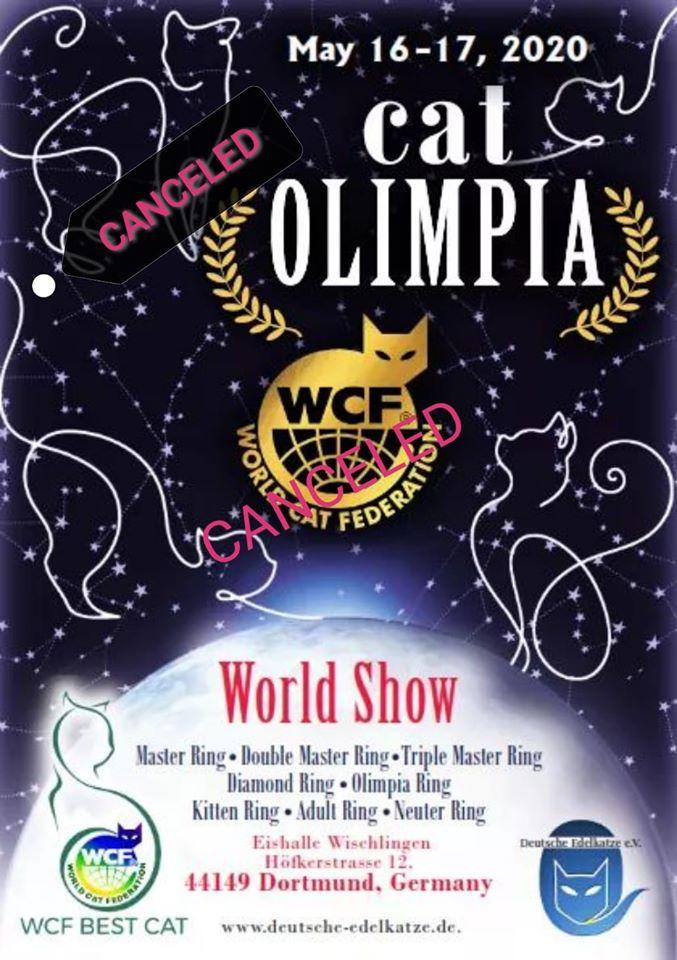 WCF Worldshow / Cat Olimpia - ABGESAGT!
