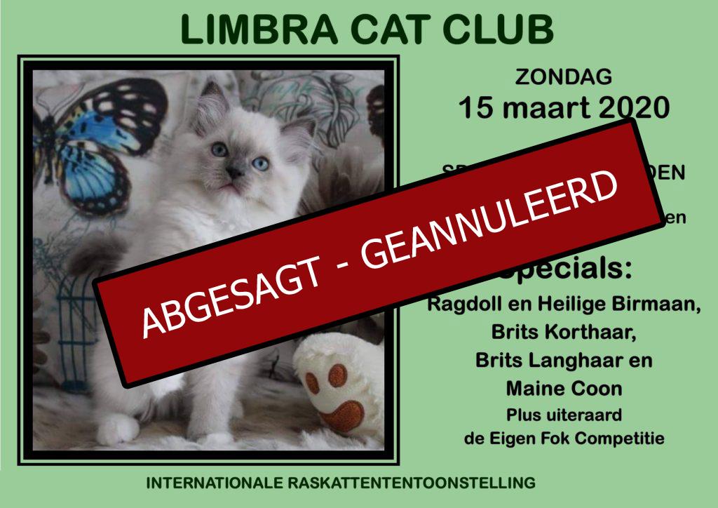 Limbra Cat Club Ausstellung - ABGESAGT!