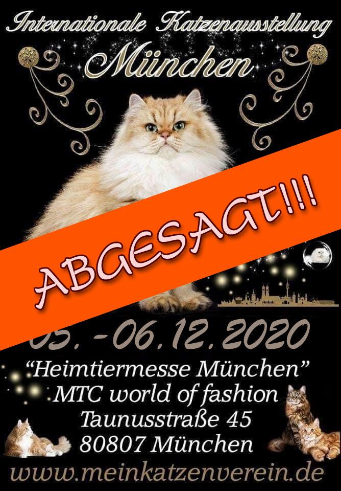 Internationale Rassekatzenausstellung des CPC - ABGESAGT!