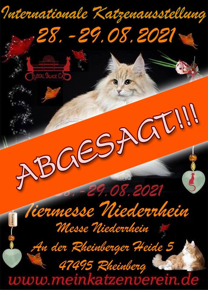 Internationale Katzenausstellung des CPC / Tiermesse Niederrhein - ABGESAGT!